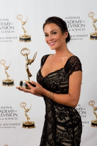 Christina Cindrich, Emmy Award Winning Producer & On-Air Talent for AWE