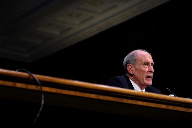 Former U.S. Senator Coats testifies before the Senate Select Committee on Intelligence on his nomination to be Director of National Intelligence in Washington