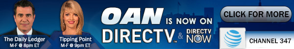 One America News Network is now on DirecTV and DirecTV NOW - Channel 347!