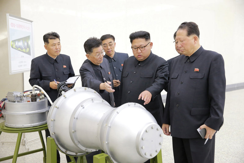 2017 09 02T222125Z 1 LYNXNPED810NK RTROPTP 0 NORTHKOREA MISSILES 1 - North Korea detonates its sixth and most powerful nuclear test yet