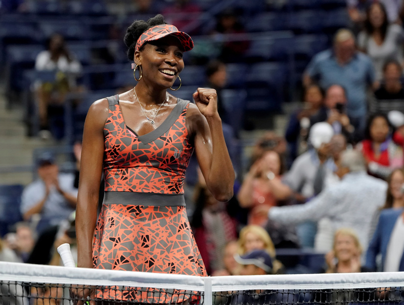 Venus Williams advances into US Open quarter-finals