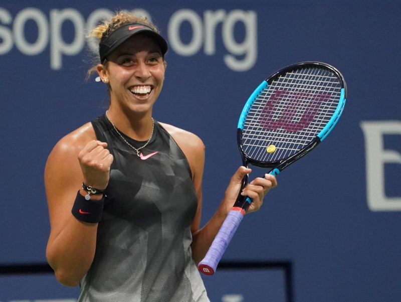 Red, white and blue: 4 Americans left at US Open