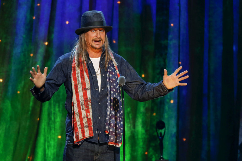 Kid Rock: 'Pretty amusing how scared I have them'