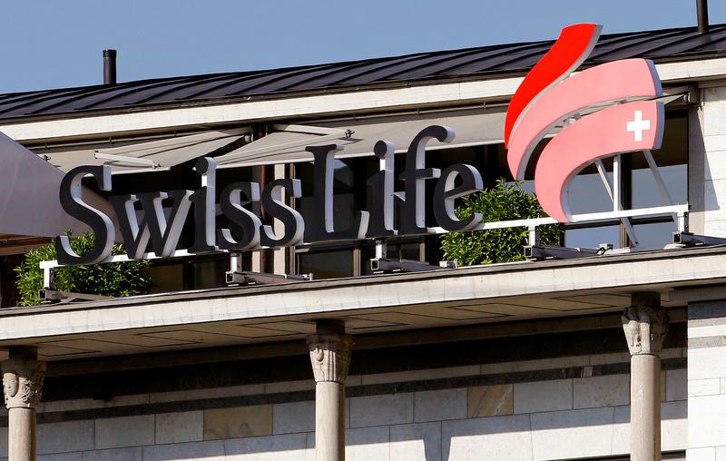 Logo of Swiss Life is seen in Zurich