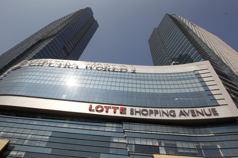 A view of the Ciputra World 1, Lotte Shopping Avenue, shopping mall in Jakarta, Indonesia