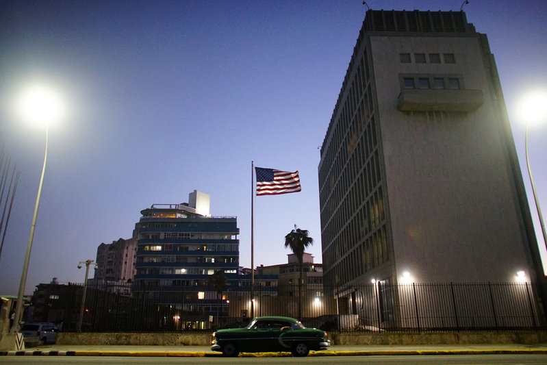 U.S. plans to withdraw staff from embassy in Cuba