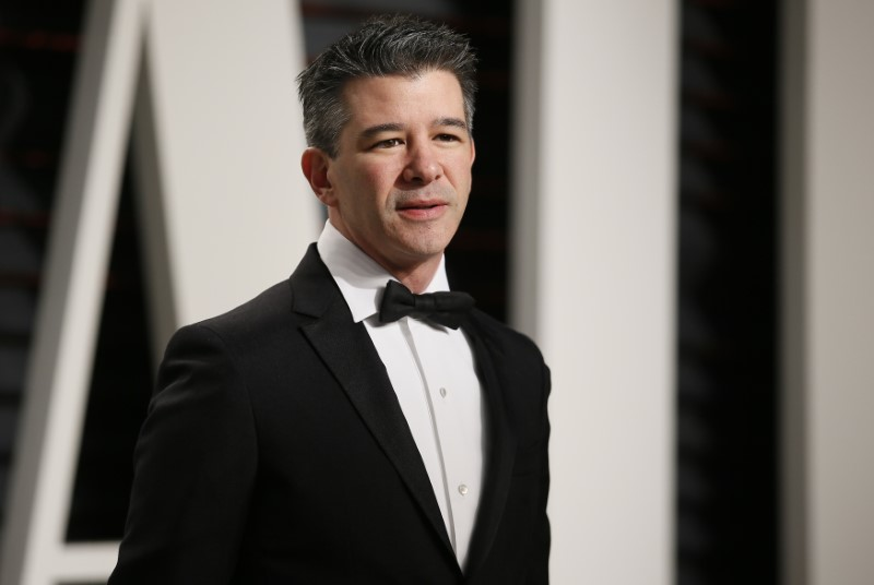 Uber's Kalanick says he appoints former Xerox, Merrill bosses to board