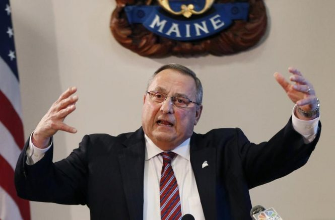 LePage sends letter to sheriffs directing them to cooperate with immigration officials