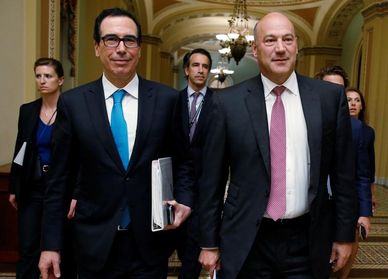 2017 10 06T140350Z 1 LYNXMPED9516R RTROPTP 0 USA TAX 1 - U.S. Treasury outlines sweeping reform of capital markets
