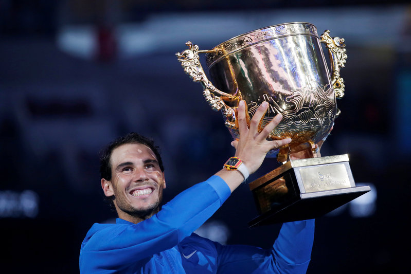 Nadal Crushes Kyrgios For 75th Career Title, Win Streak At 12