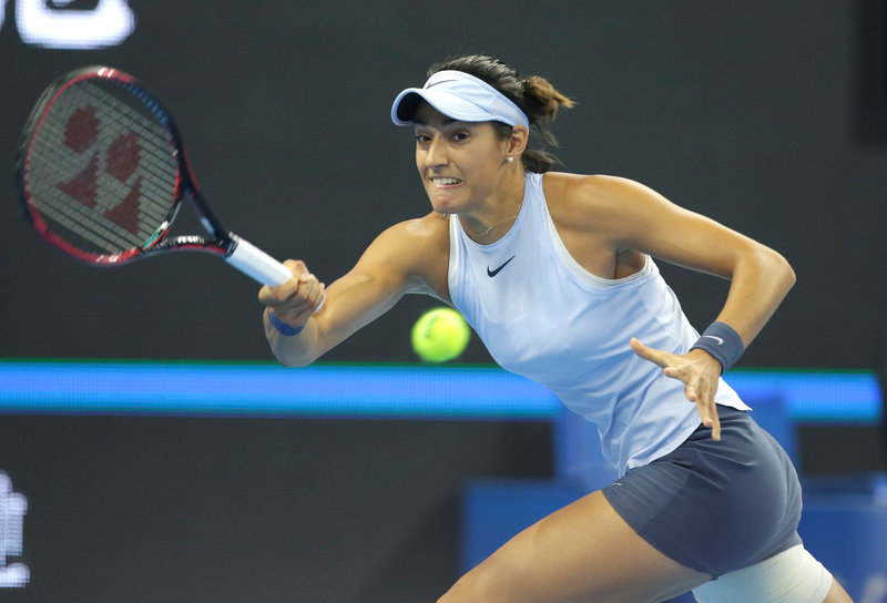 2017 10 09T054642Z 1 LYNXMPED9807T RTROPTP 0 TENNIS BEIJING WOMEN 1 - Tennis: Garcia pulls out of Tianjin Open with injury