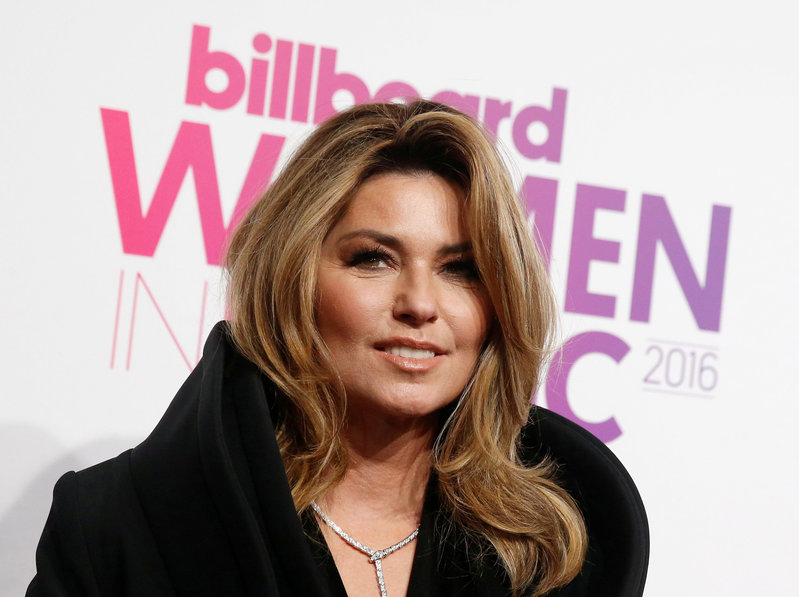 Shania Twain back on top, Tom Petty re-enters U.S. charts