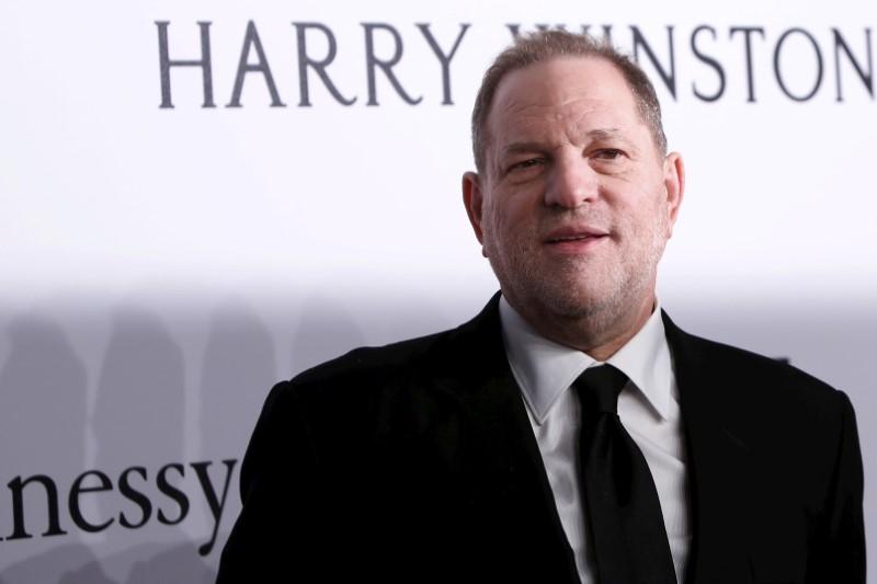 FILE PHOTO: Film producer Harvey Weinstein attends the 2016 amfAR New York Gala at Cipriani Wall Street in Manhattan, New York.