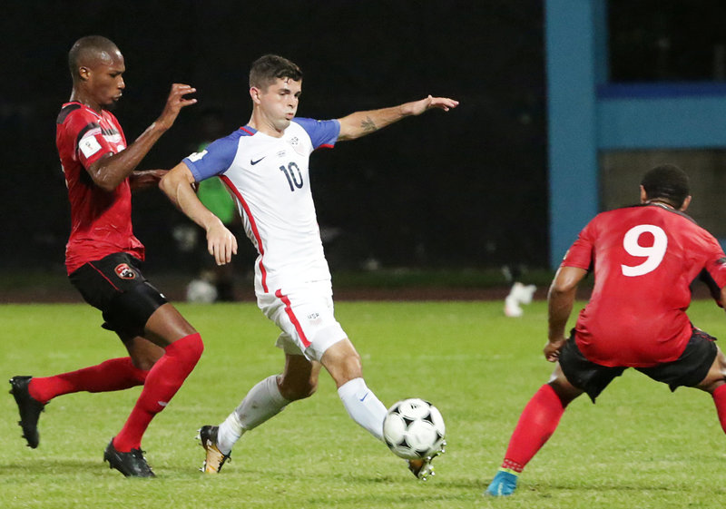 Soccer Football - 2018 World Cup Qualifications - North, Central America & Caribbean - Trinidad and Tobago v United States