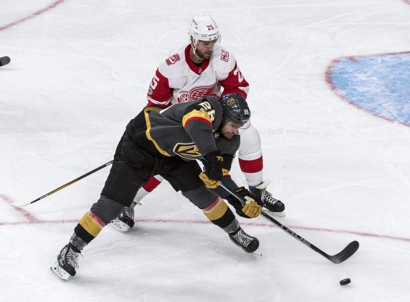 2017 10 14T054903Z 1 LYNXMPED9D03T RTROPTP 0 HOCKEY NHL VGK DET 1 - Highlights from Friday's NHL games