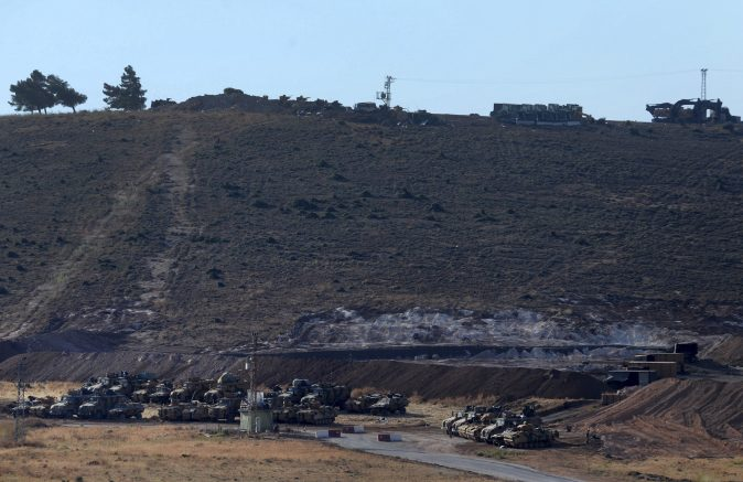 Turkish Forces Set Up Positions in Northwest Syria