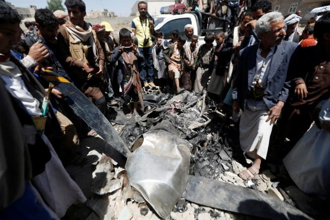 Yemen Shoots Down US Surveillance Drone Over Nation's Capital