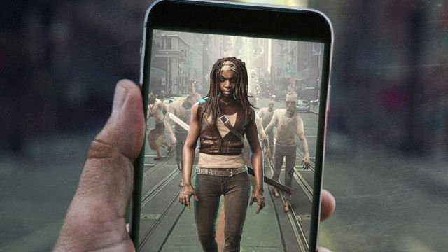A view of the Next Games game Walking Dead