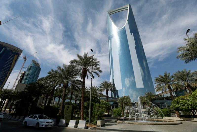 The Kingdom Centre Tower is seen in Riyadh
