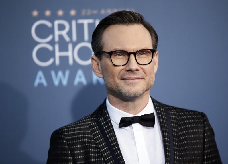 Christian Slater arrives at the 22nd Annual Critics' Choice Awards in Santa Monica