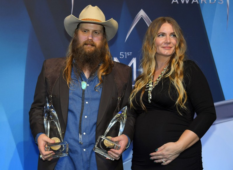 51st Country Music Association Awards – Photo Room - Nashville