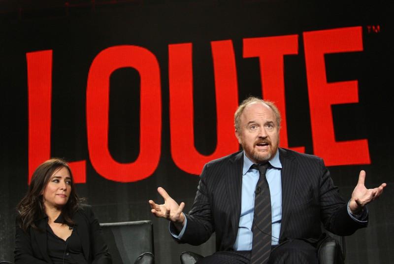 FILE PHOTO: Cast members Pamela Adlon and Louis C.K. participate in the