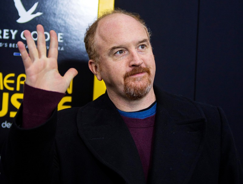 FILE PHOTO: Cast member Louis C.K. attends the