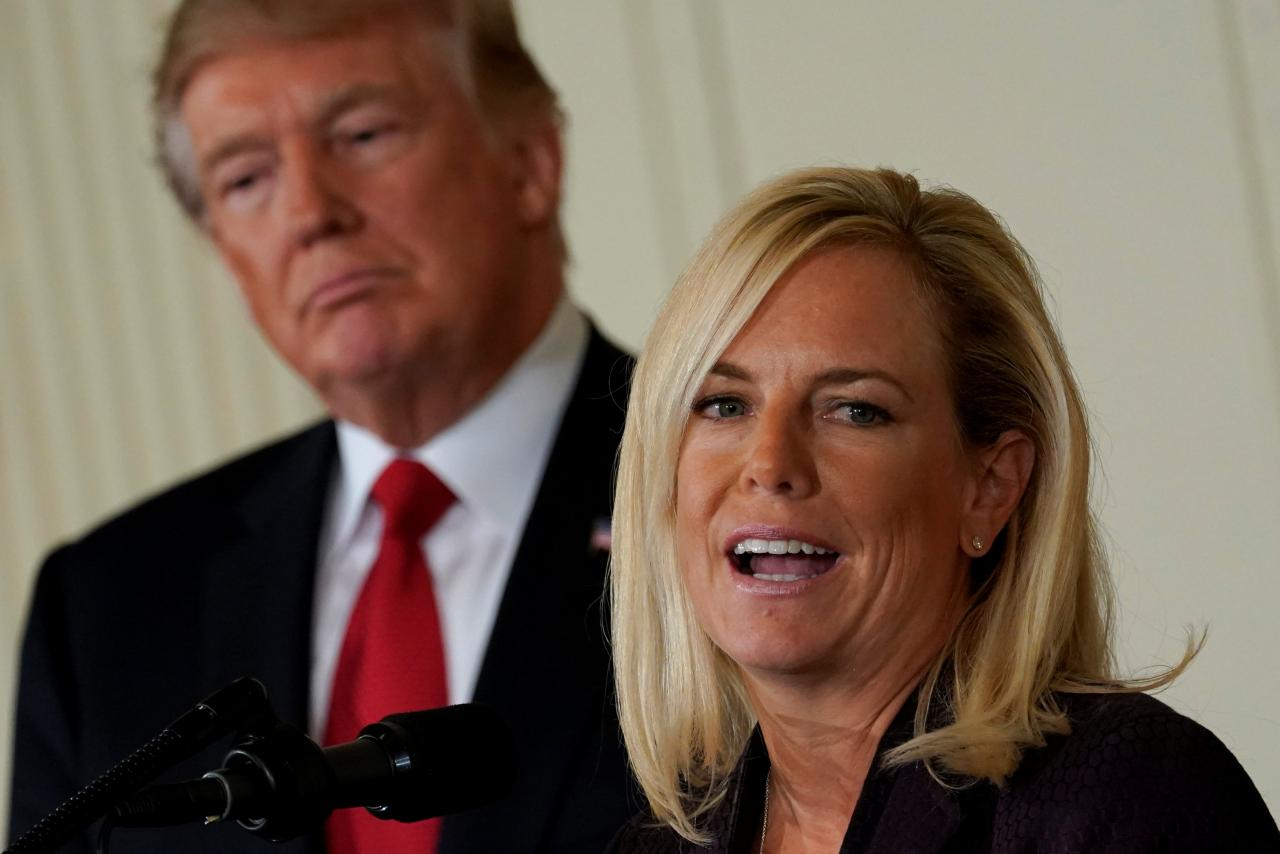 There's No Point In Berating Secretary Nielsen for Trump's Comment