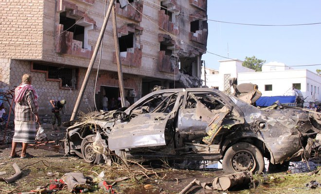 Vehicle bomb explodes outside Yemeni ministry offices in Aden, casualties reported -residents