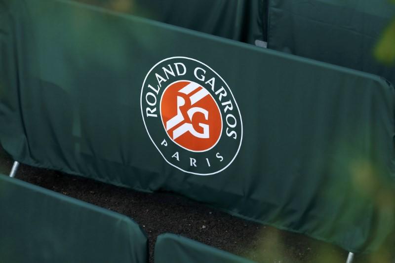 Tennis - French Open - Roland Garros - Roland Gorros logo
