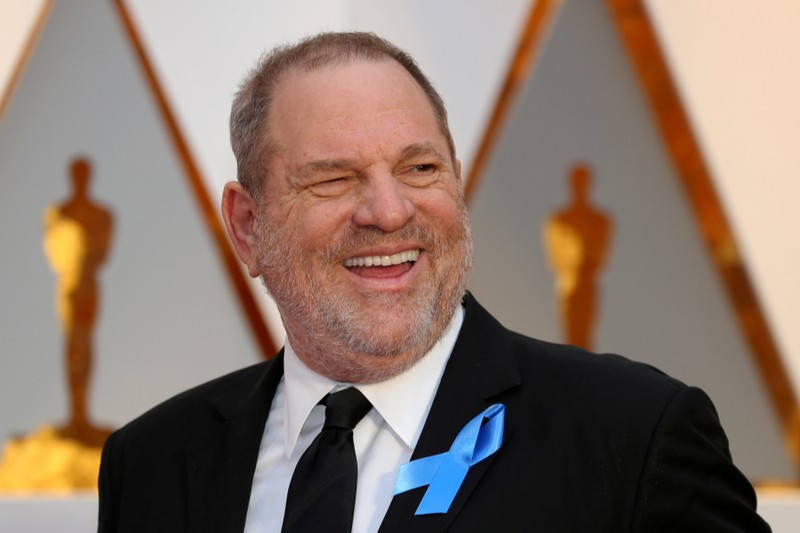FILE PHOTO: Harvey Weinstein arrives at the 89th Academy Awards in Hollywood