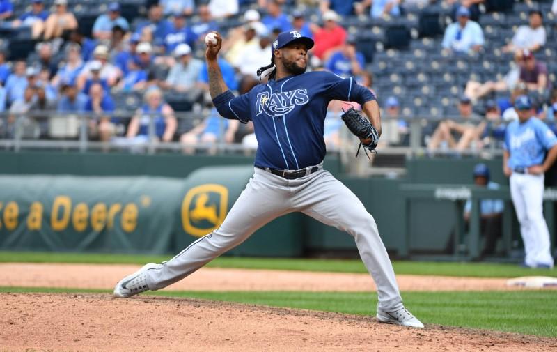 MLB: Tampa Bay Rays at Kansas City Royals