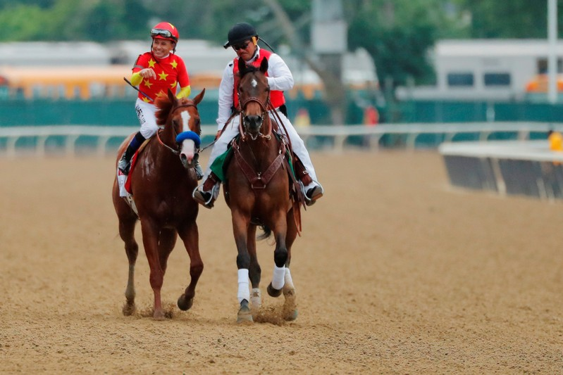 Justify Takes Belmont Stakes, Becomes 13th Triple Crown Horseracing Winner