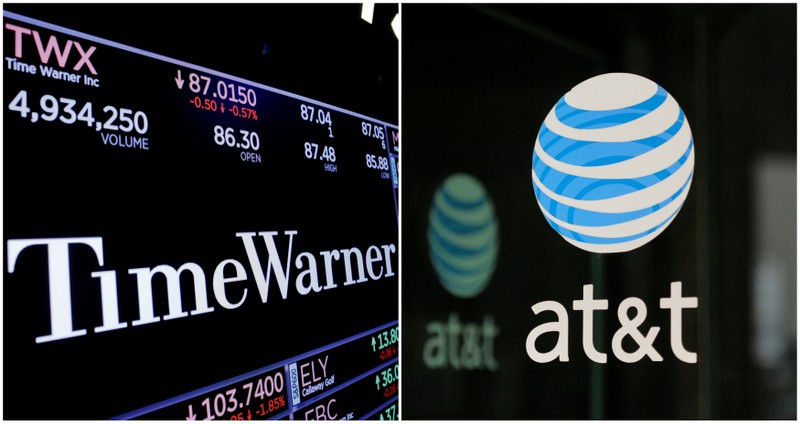 AT&T approval boosts stocks of possible merger targets