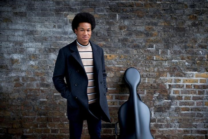 Cellist Sheku Kanneh-Mason who will be playing at the wedding next month of Britain's Prince Harry and Meghan Markle in St George's Chapel in Windsor Castle is seen in an undated handout picture released by Kensington Palace
