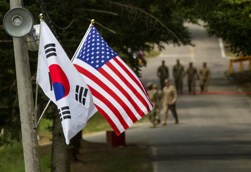 Senate bill would bar unilateral withdrawal of United States troops from South Korea