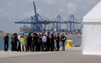 Boat migrants rocked by EU political storm to arrive in Spain