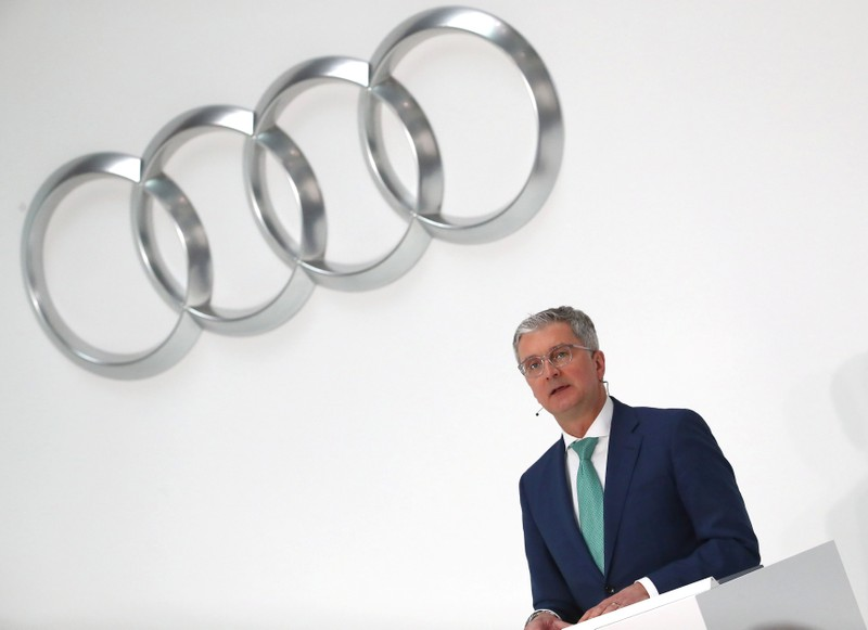 Audi CEO Rupert Stadler detained in diesel emissions case, reports say
