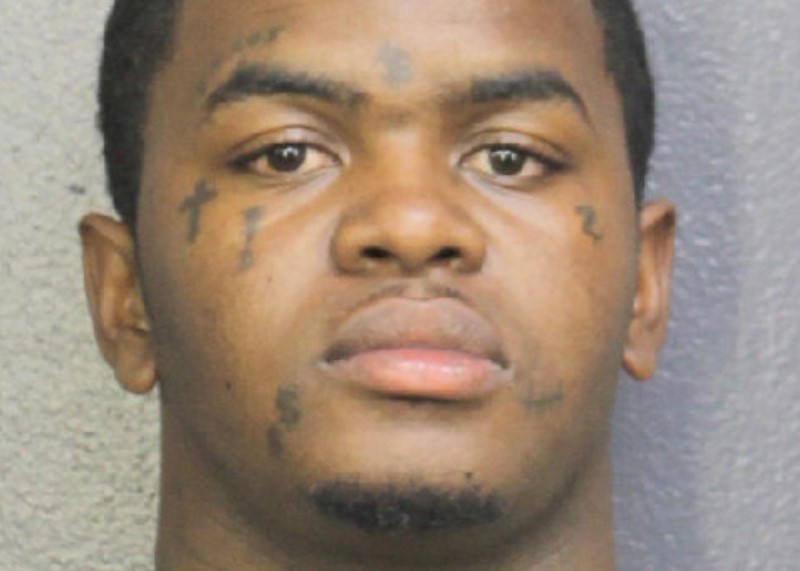 Dedrick D. Williams, appears in a booking photo in Florida