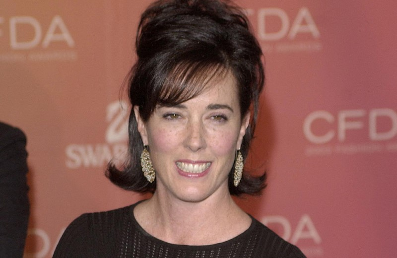 FILE PHOTO:  Kate Spade arrives at the Council of Fashion Designers of America awards in New York