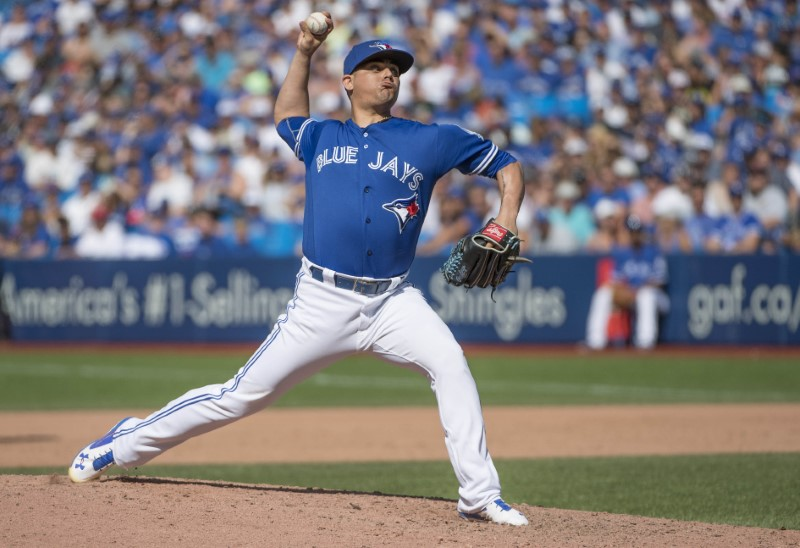 Toronto Blue Jays closer Roberto Osuna suspended through Aug. 4