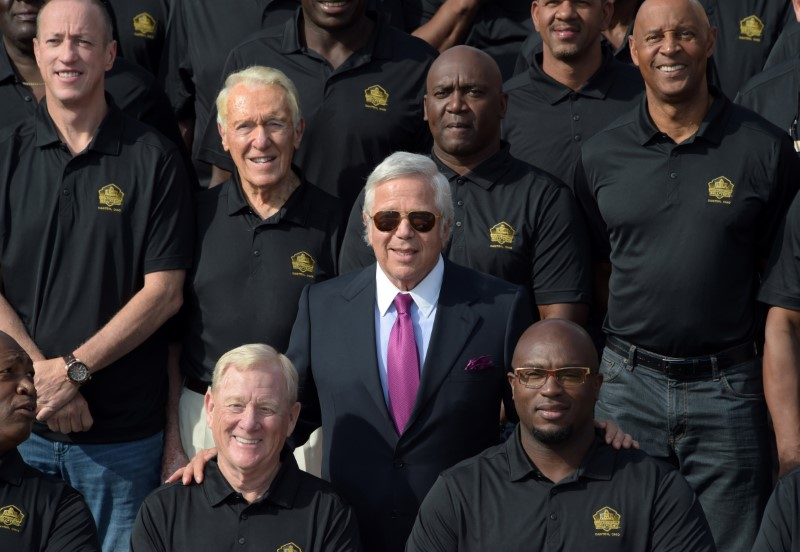 NFL: Pro Football Hall of Fame-Tom Benson Hall of Fame Stadium Groundbreaking