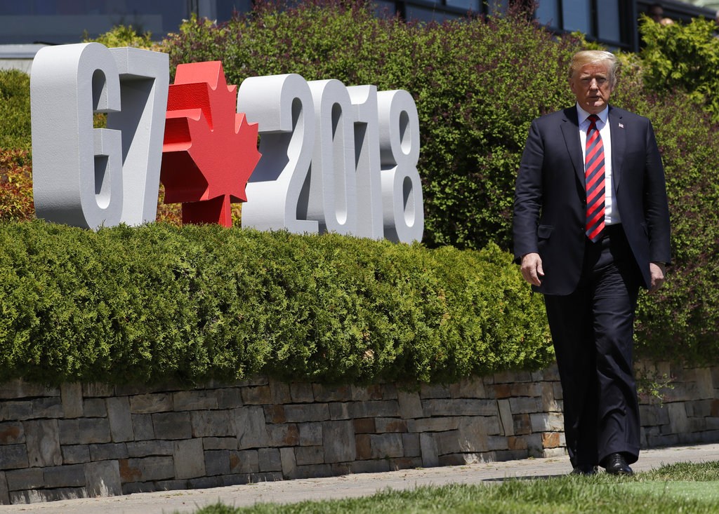 Trump takes more swipes at Canada and Trudeau after tense G7 summit