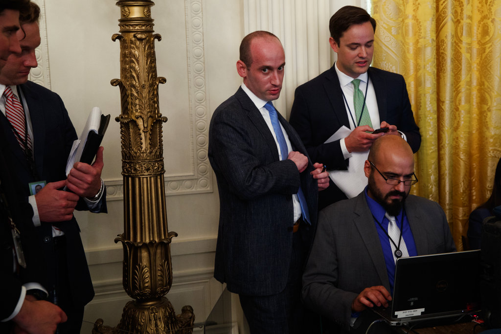 Critics Rip NYT for Killing Audio Interview With Stephen Miller