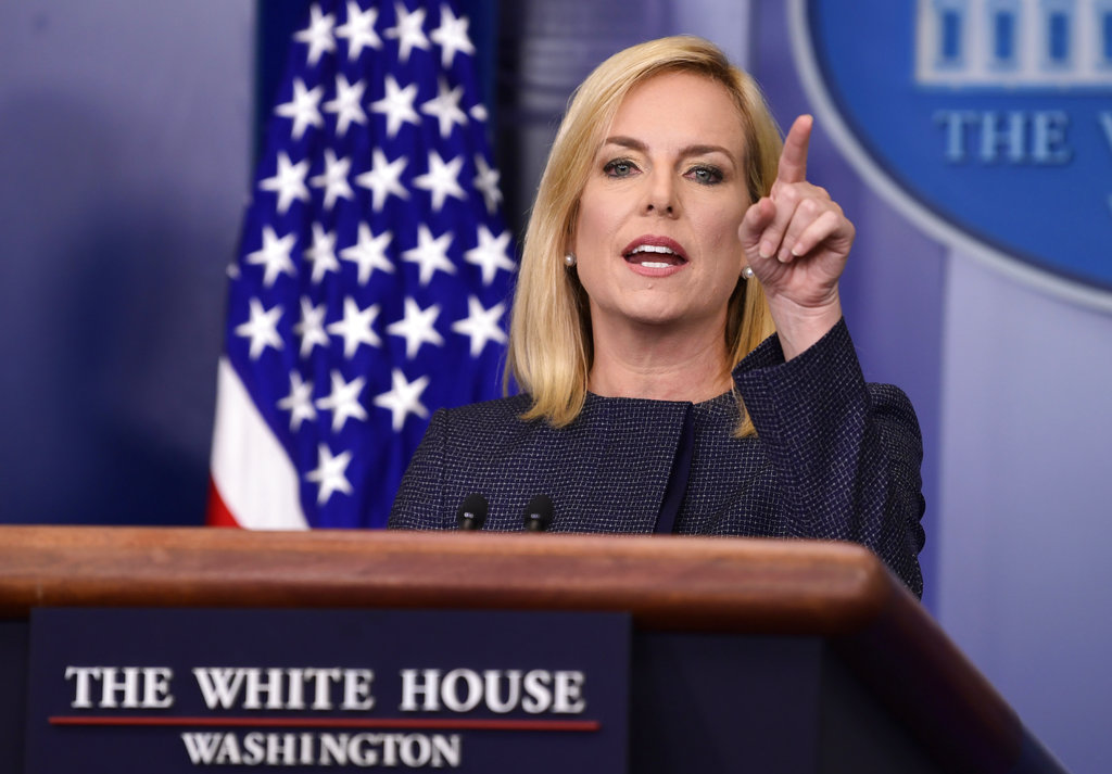 Trump Expected To Fire Kirstjen Nielsen in the Coming Weeks