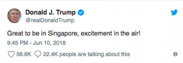 President Trump Tweet
