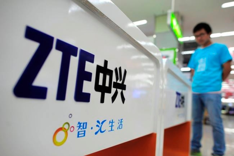 US Senate votes to reimpose ban on China's ZTE, shares plunge