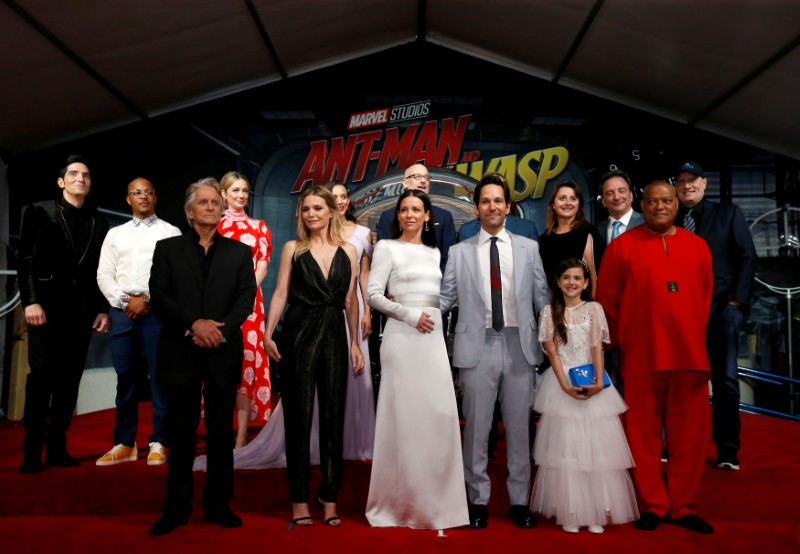 "FILE PHOTO: Cast members and crew attend the premiere of the movie ""Ant-Man and the Wasp"" in Los Angeles"