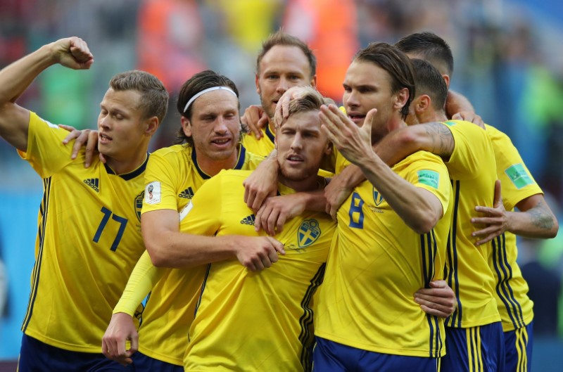 Soccer: World Cup-Sweden vs Switzerland