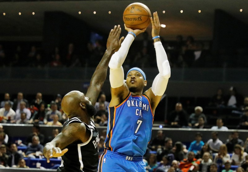 Basketball - NBA Global Games - Brooklyn Nets v Oklahoma City Thunder